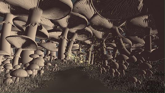 Animated scene