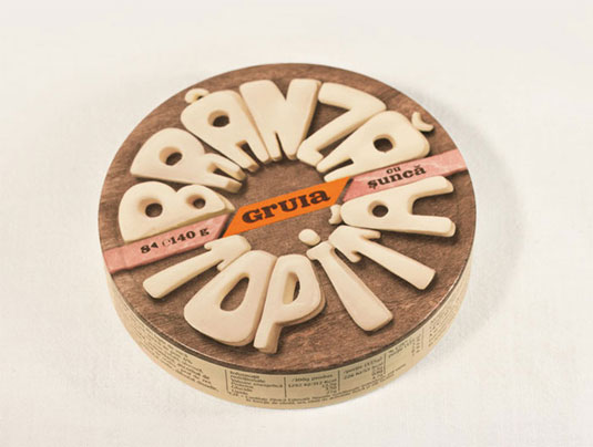 cheese typography