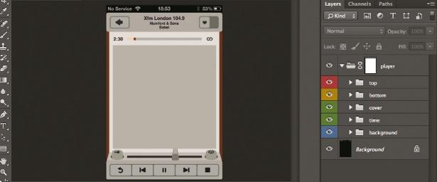 iOS design: Design an interface