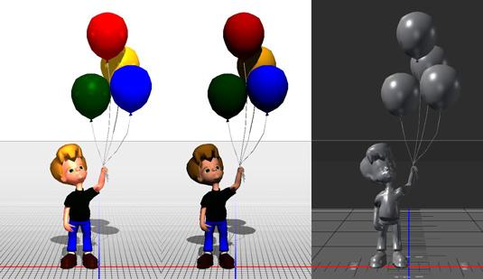 Photoshop 3D model