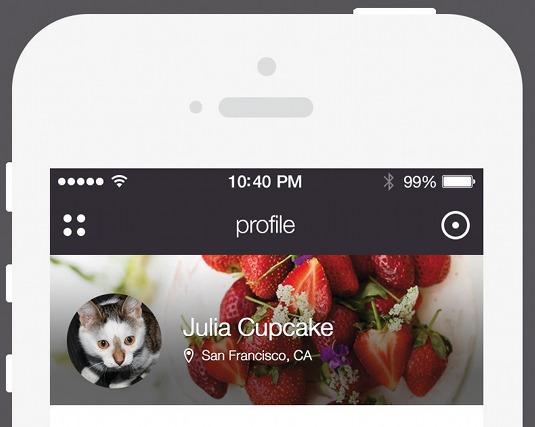 Design a mobile app for iOS 7