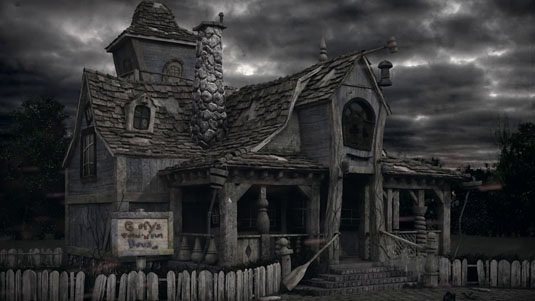 Abandoned Goofy's playhouse