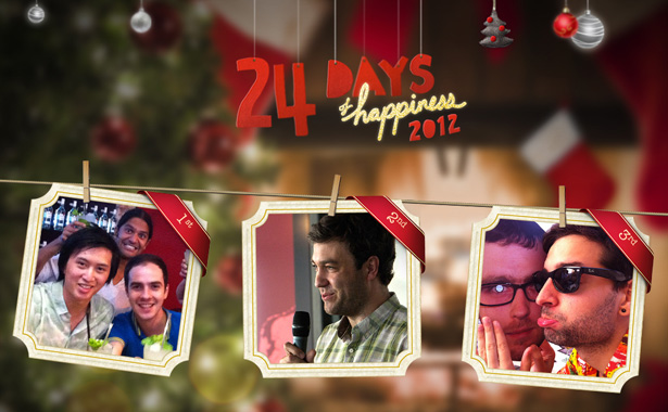 Specialmoves' 24 Days of Happiness digital advent calendar