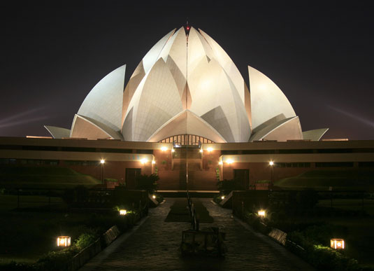 Design landmarks: the Lotus Temple