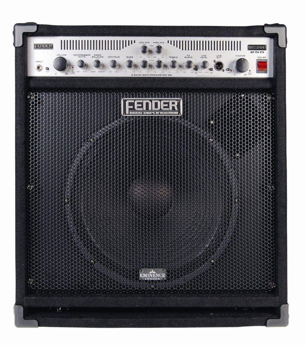 fender bassman 250 115 bass combo review musicradar. Black Bedroom Furniture Sets. Home Design Ideas