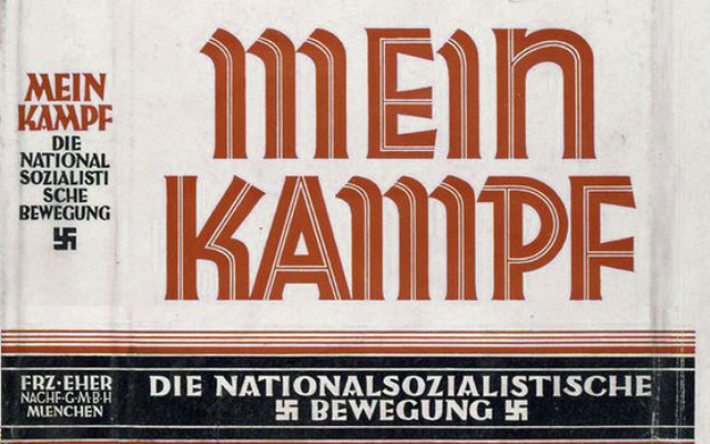 """a literary analysis of mein kampf by adolf hitler Includes a succinct analysis of mein kampf within its historical context, emphasizing hitler's """"new philosophy of life,"""" including his ideas on race, social darwinism, eugenics, and the ."""