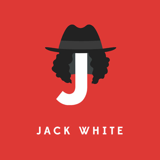 jack white typography