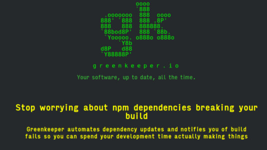 Take control of your dependencies