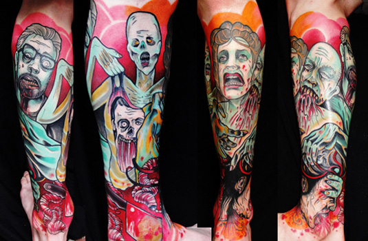 Tattoo art designs: Adriaan Machete