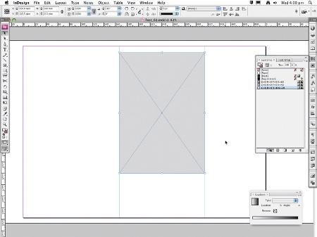 a3 landscape indesign