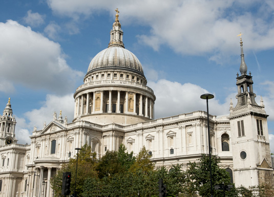 Famous buildings: St Paul's Cathedral in London