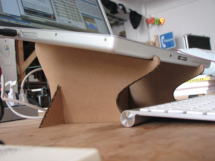 How to make a DIY cardboard laptop stand MusicRadar