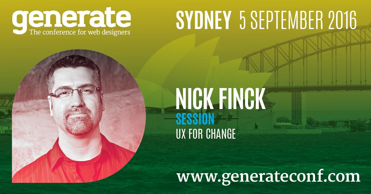 Generate Sydney - Nick Finck