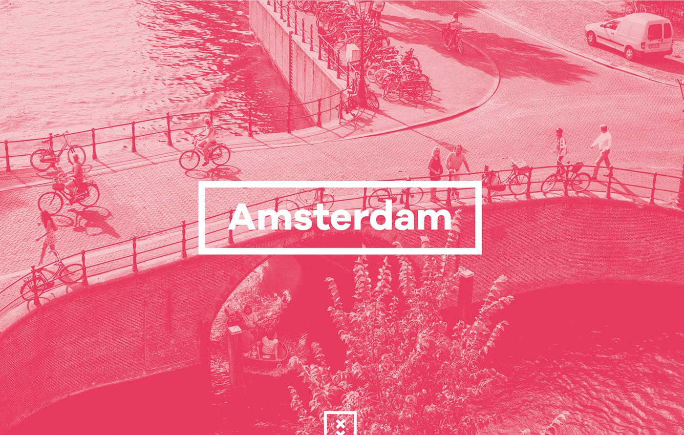 Amsterdam icon designs