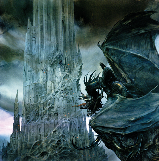 How an artist helped create The Hobbit and Lord of the Rings films