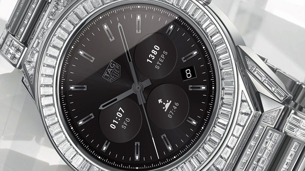 Tag Heuer's most expensive Android Wear watch is covered in 589 diamonds