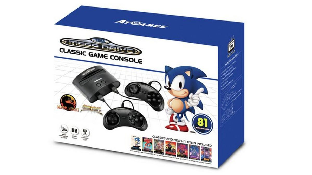 I had no intention of buying a Sega Megadrive with 81 games… but at £35, all rational thought is… SEGA! DOO, DOO, DO, DO…