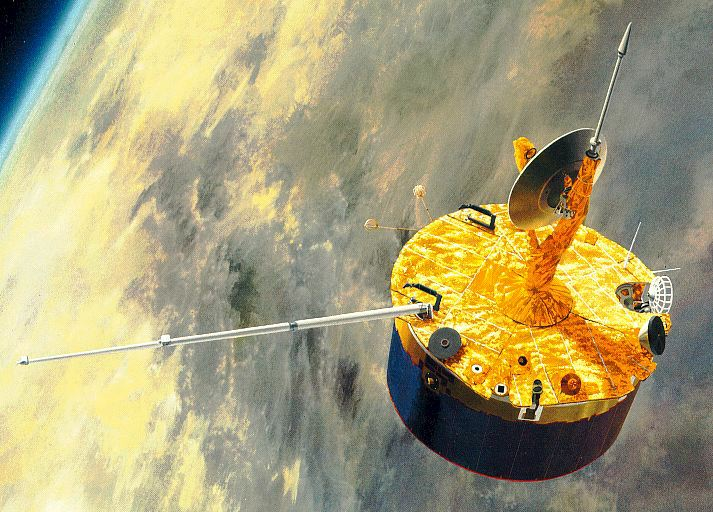 On This Day in Space: Oct. 8, 1992: Pioneer 12 burns Up in Venus' atmosphere