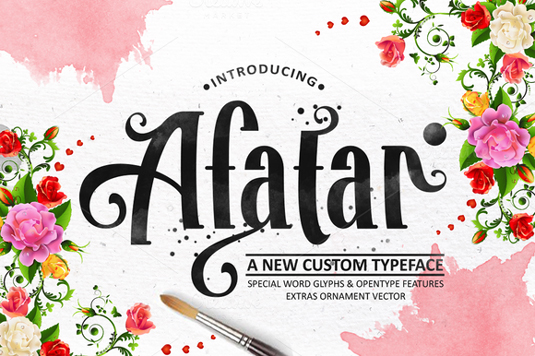 Free font: Afatar