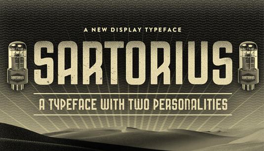 Sartorius font