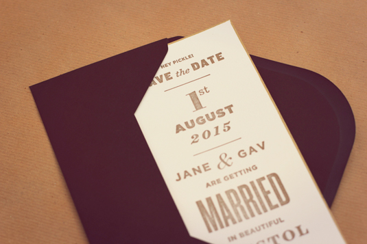 wedding invite inspiration