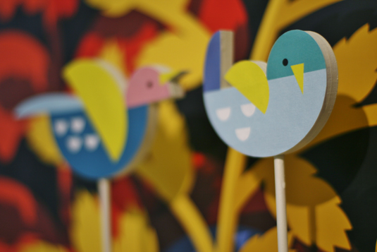 Birds, Birds, Birds by Kiki Ljung
