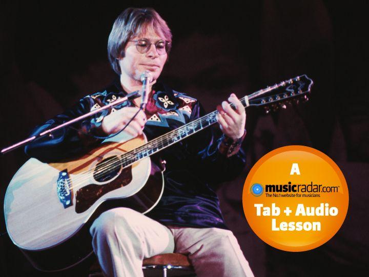 how to play acoustic guitar like john denver