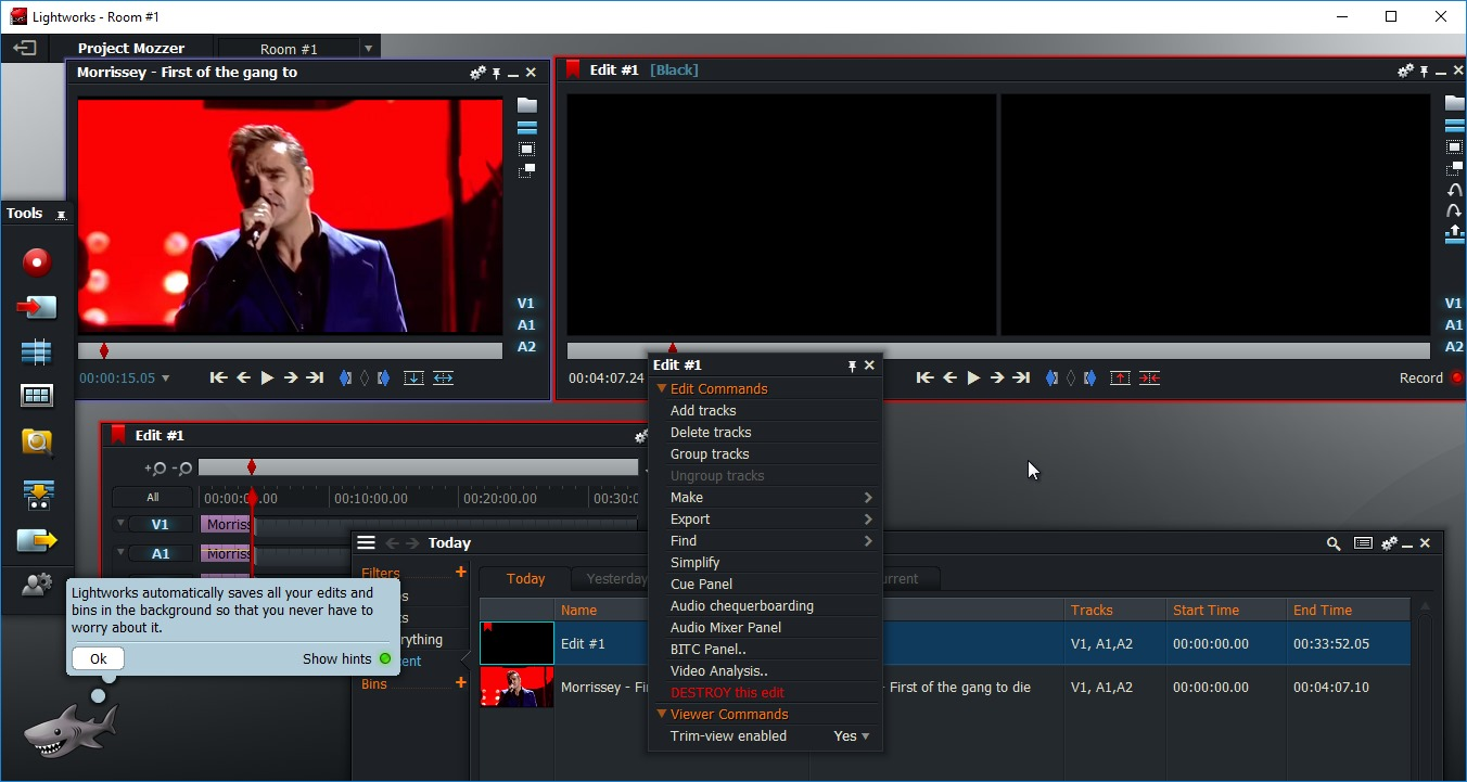 Multicam, Motion Tracking, and More