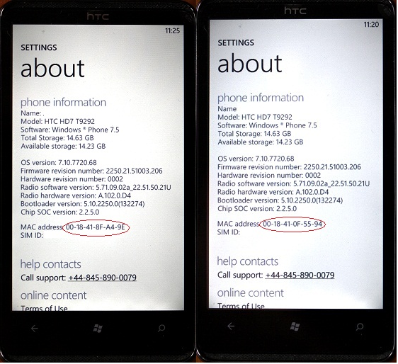 HTC fault sees Windows Phone 7 handsets constantly ...