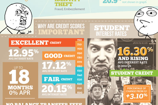 Best infographics: credit cards