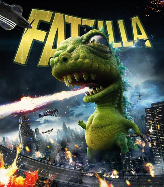 3D art: Fatzilla