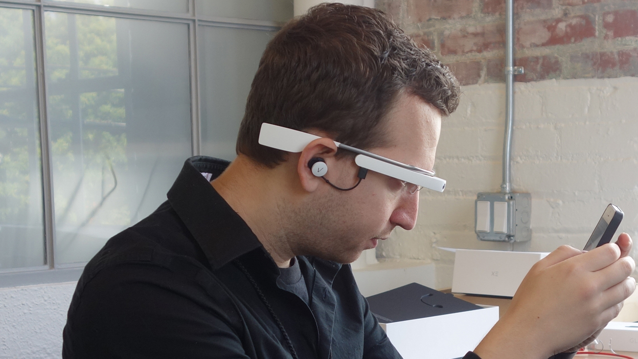 Google Glass battery