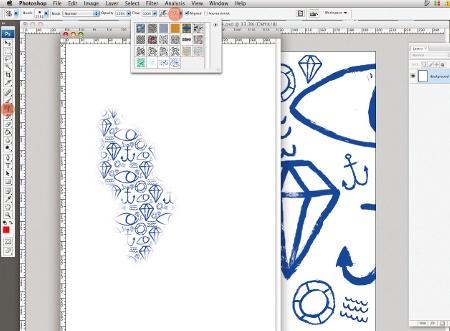 pattern stamp tool