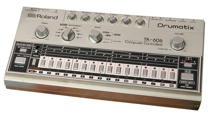 blast from the past roland tr 606 drumatix musicradar. Black Bedroom Furniture Sets. Home Design Ideas