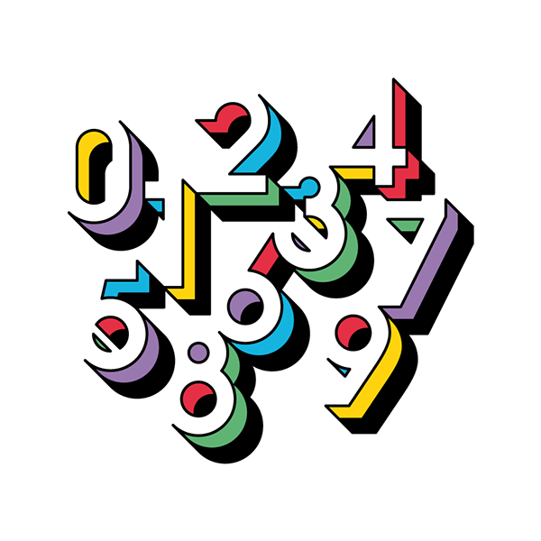 Forma and Co number typography