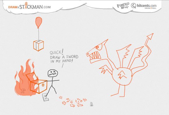 Draw a Stickman home page