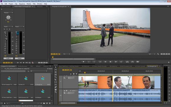 Adobe Premiere Pro CS6: Dynamic-Timeline-Trimming