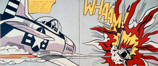 Top 5 Pop Art artists: Lichtenstein