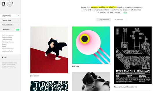 Design portfolio: Cargo Collective