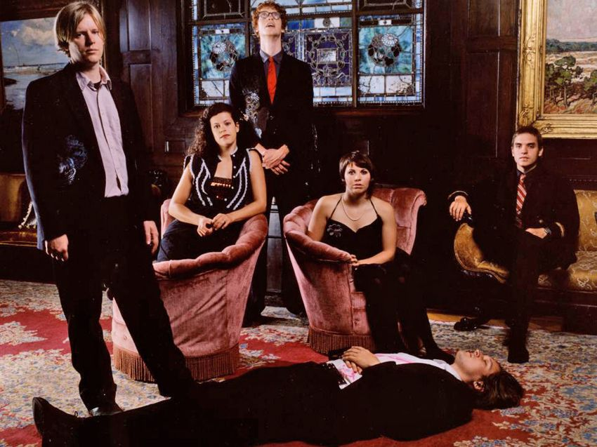 Arcade fire to record new material this year musicradar for Miroir noir neon bible archives