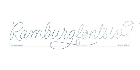 Flirt Script font
