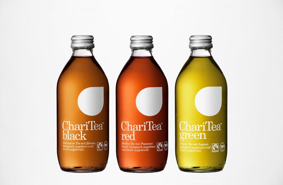 minimal packaging design:Charitea