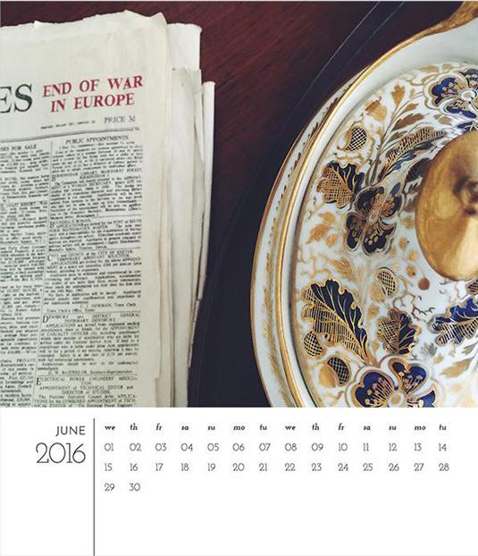Photoshop calendar