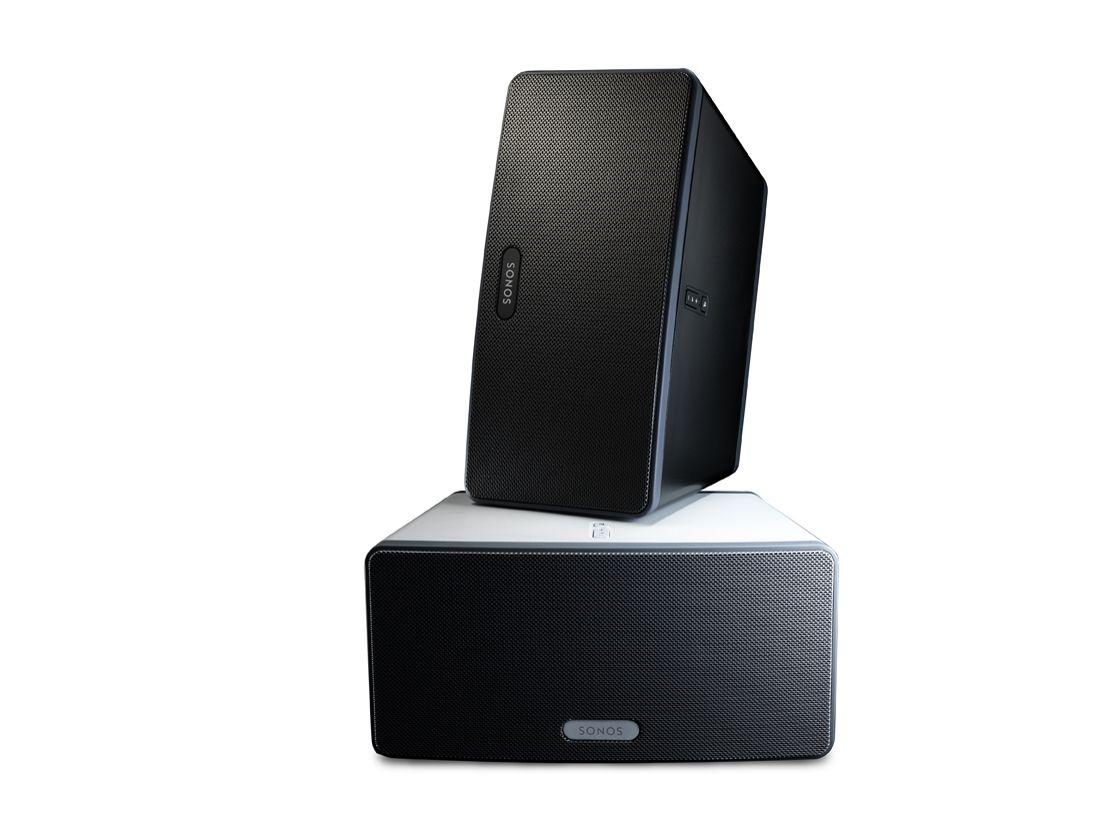 sonos play 3 revealed for compact multiroom music techradar. Black Bedroom Furniture Sets. Home Design Ideas