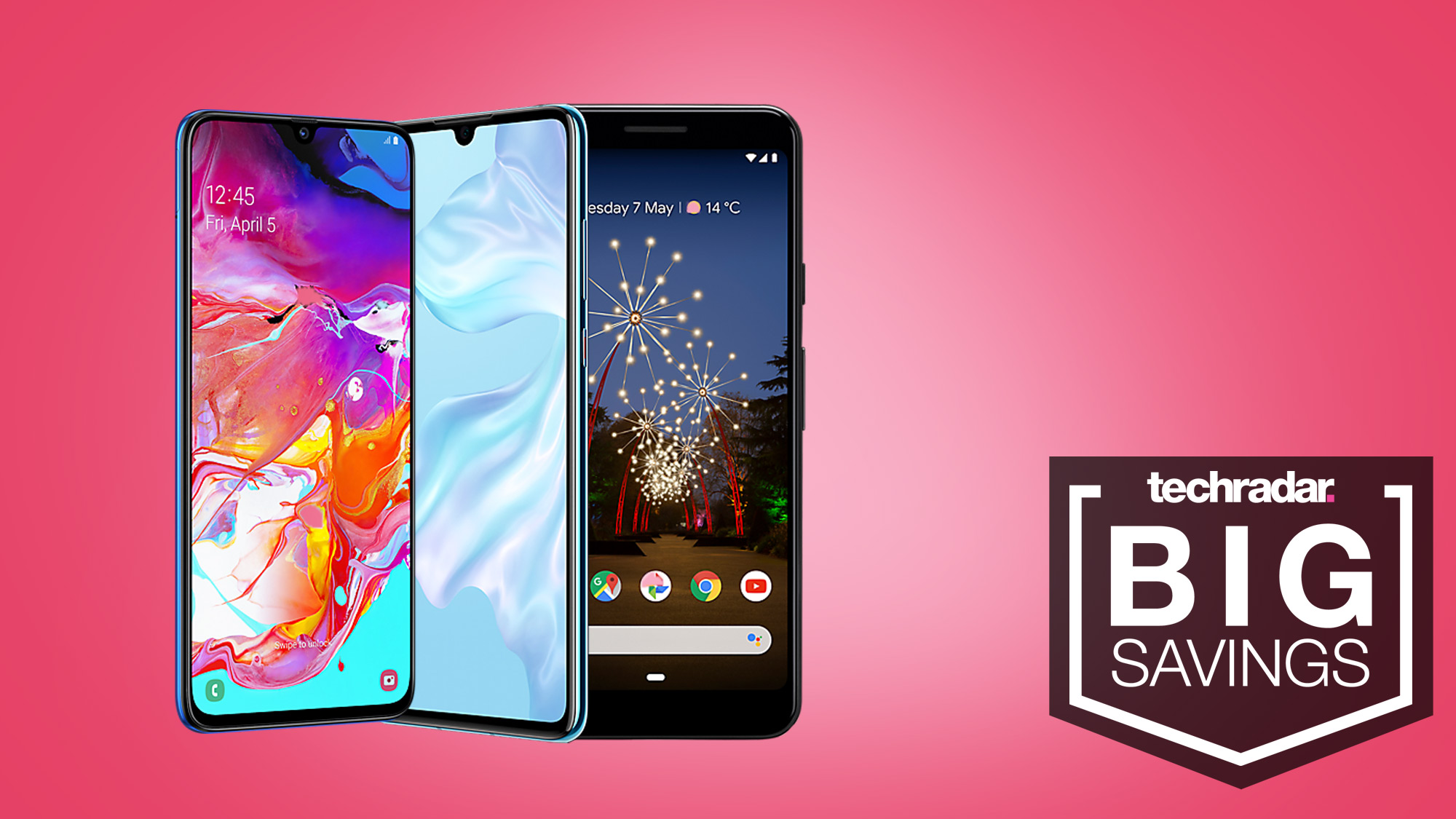 These exclusive phone deals are just £20/pm - Samsung, Apple, Huawei and Google