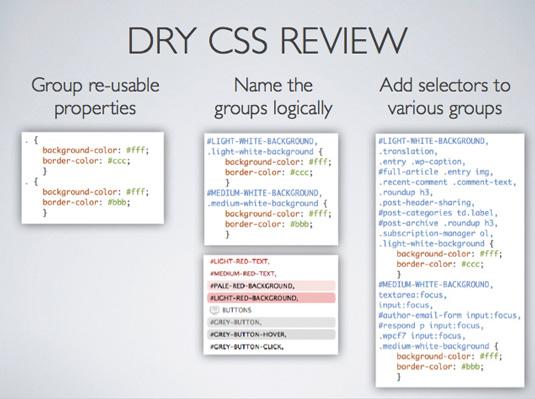 DRY CSS