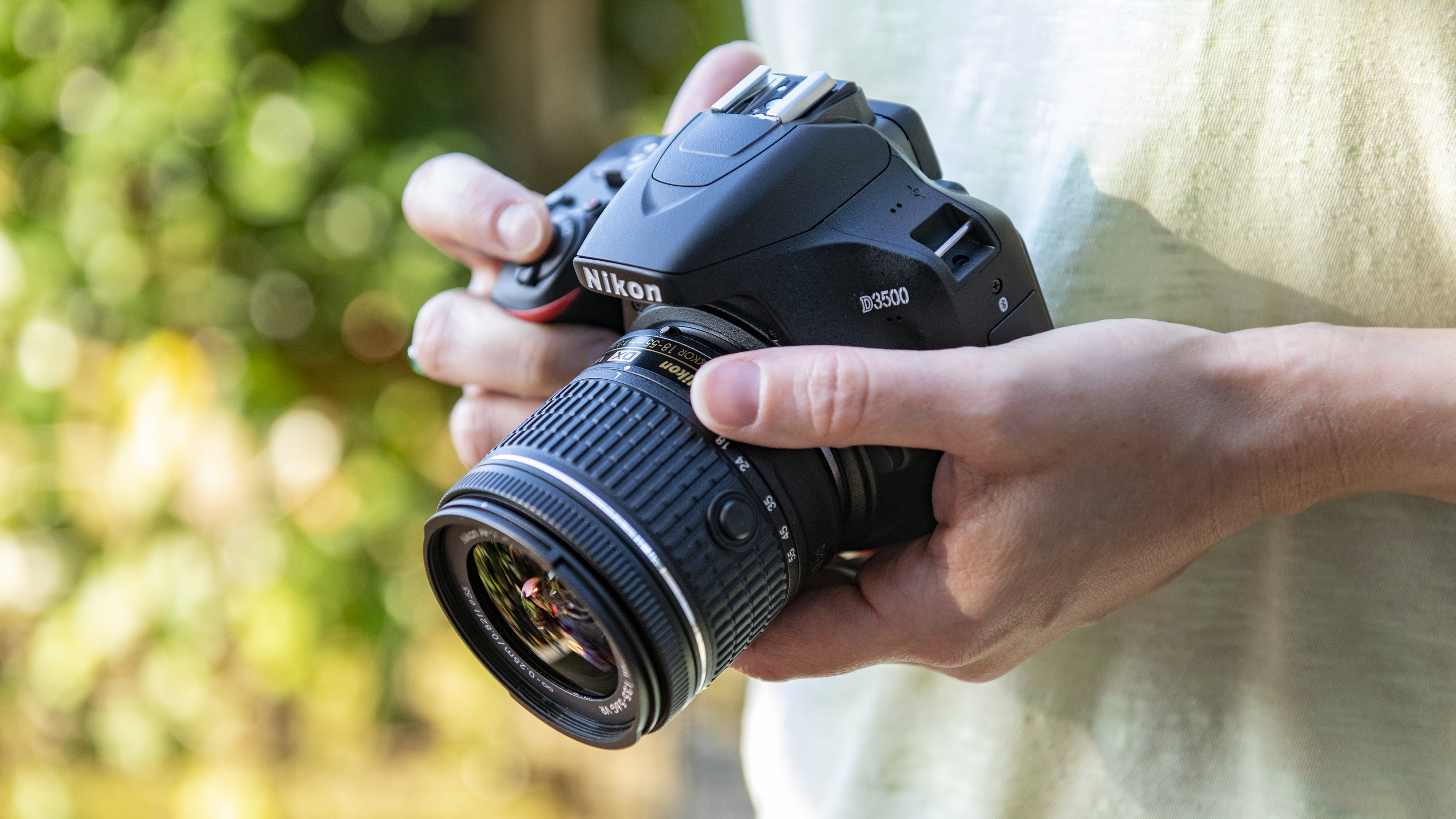 Best camera: Nikon D3500