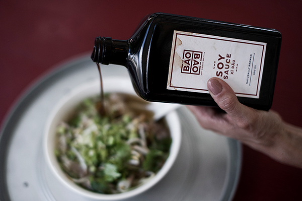 Dim Sum bar branding