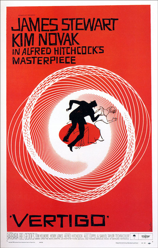 Movie posters: Vertigo