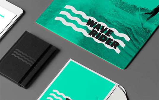 Wake boarding branding